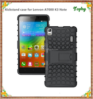 Mixed Color Phone Cover stand Holder Case for Lenovo K3 Note A7000