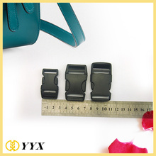 Quick side release buckles plastic buckle for bags