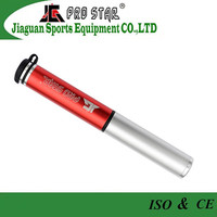 Aluminum sports bike accessory parts pocket hand pump