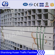 130*130*6mm square steel guardrail barrier post