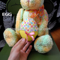 AZO free China Yangzhou supplier cute plush easter egg hunts plush toys for kids good quality