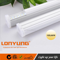 6500k 4500k 3000k led fluorescent light fitting T5 20w 18w 9w