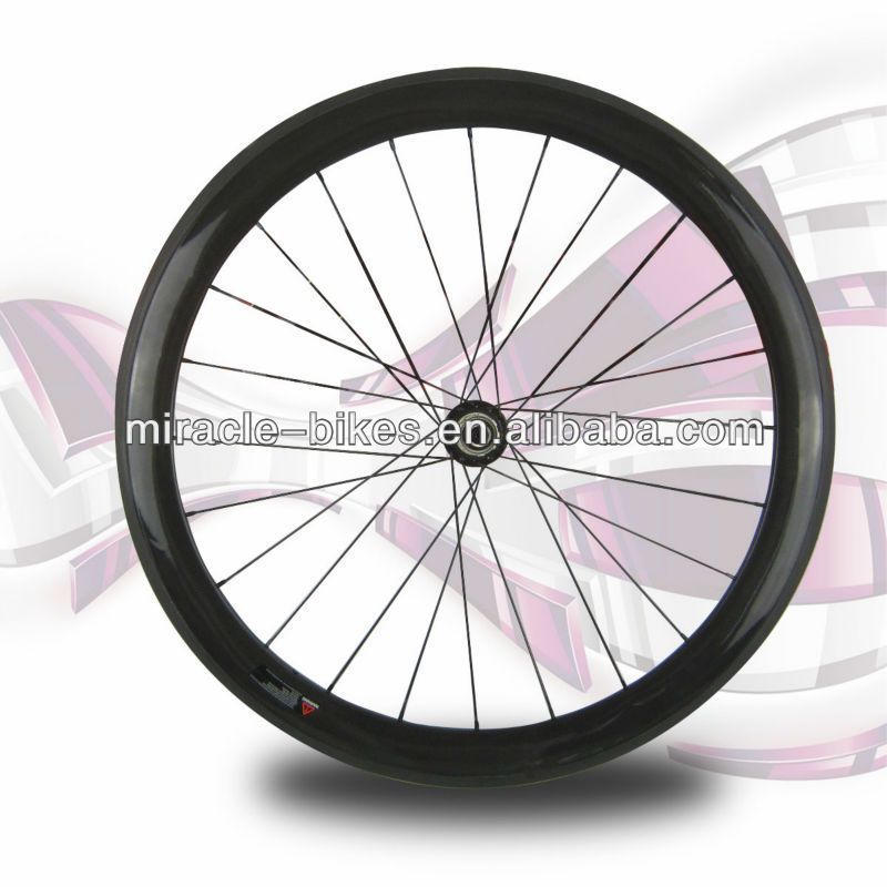 Miracle carbon wheels cycling 38mm clincher wheel
