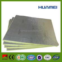 Home outdoor insulation products heat insulation fiberglass wool with alu foil