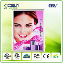 Display/ Advertising commercial poster/display battery powered poster led light box