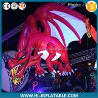 2015 hot sale advertising high quality lovely inflatable fly dragon