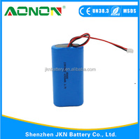 Factory price 18650 3.7V 4000mAh Li-ion battery with PCB and connector