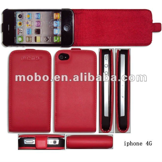 Case for iPhone 4 / 4S, Housing for iPhone 4 / 4S, leather case for iPhone 4 / 4S