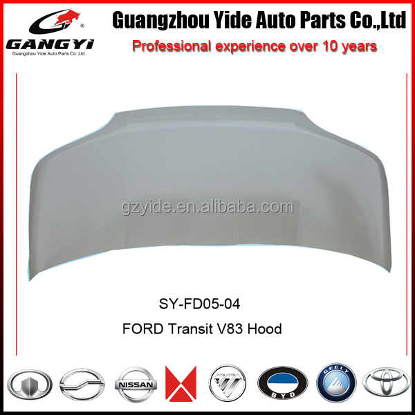 Auto Metal Parts Hood for Ford Transit Van VE83
