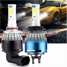 Auto Parts 8000lm LED car Headlights H4 H7 H11 9005 9006 Kit