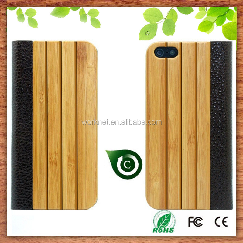 small order accepted bamboo cell phone bags & cases for iphone 5 6 6plus-Worknet