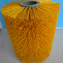 high quality durable abrasive nylon cow scratching brush