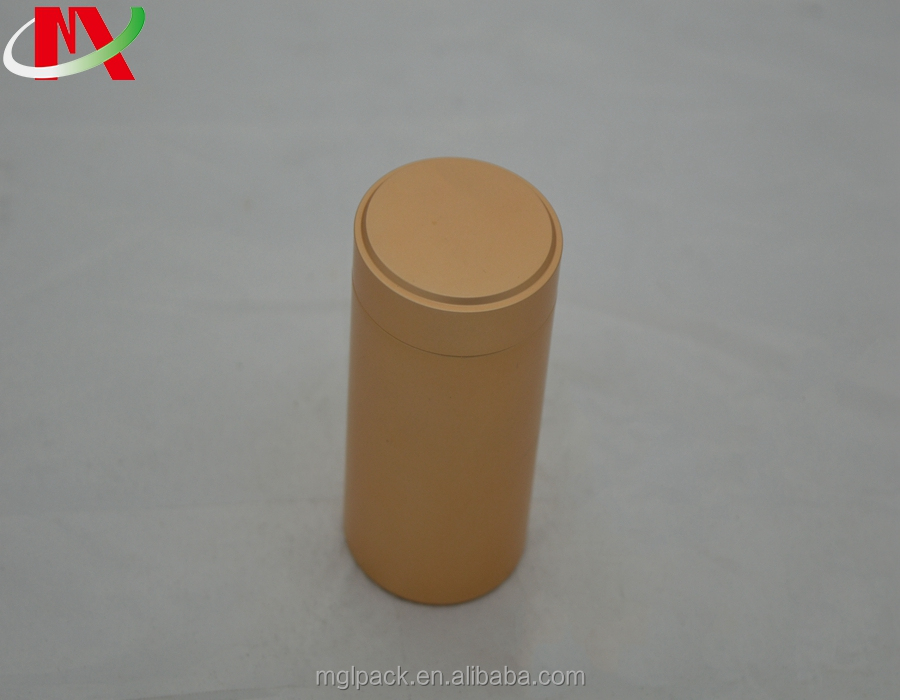 Screw lid the stretch bottom aluminum can be customized