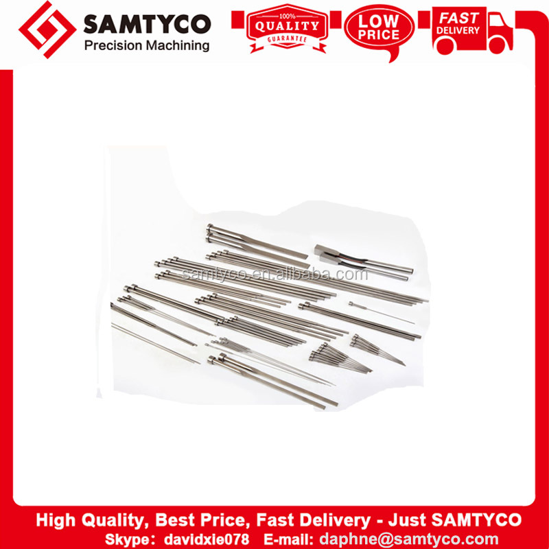 Customized top grade cnc machined aluminum metal round core pins