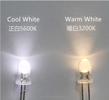 3000K 3200K 5600K CRI95+ Dip LED Chip CRI>95Ra F5 Ra 95-98 Warm White / Natural White / Cool White CRI95 5mm LED Diode