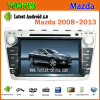 2 din 8 inch Android car dvd gps radio 3G for Mazda 6 dvd player with gps navigation system