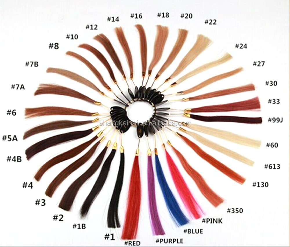 Wholesale most popular Ombre Hair Extension Clip In Hair