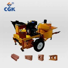 Professional M7MI interlock brick in china manual powercraft cement mixer clay block making machine for sale