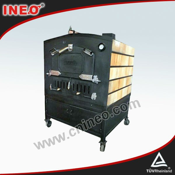 Outdoor LPG Pizza Ovens For Sale/Gas Fired Pizza Oven/Stone Fire Pizza Oven(INEO is professional on commercial kitchen project)