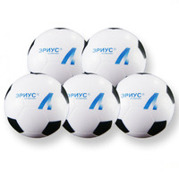 Hot selling custom pu sponge football stress balls