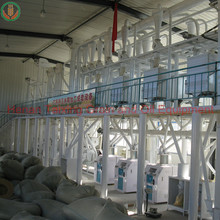 10-200T high quality wheat flour production line/wheat flour milling machines with stainless steel pipes in india