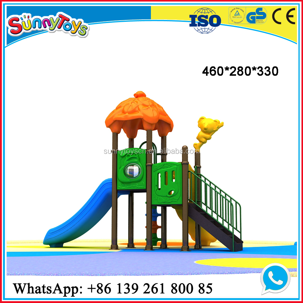 China Golden Manufacturer Backyard Playset for Kids Outdoor Play
