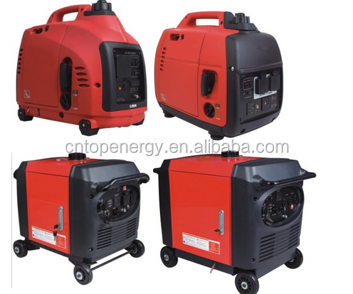 New design 5KVA Honda silent digital inverter gasoline generator 5kw copper wire portable with remote start, ATS