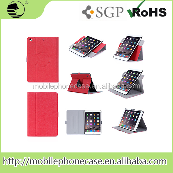 Folio stand and rotated Tablet Case For iPad Mini 4