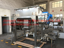 double helical horizontal ribbon mixer blender