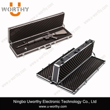 best selling long rifle aluminum case with custom foam insert for us/europe