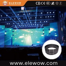 indoor/outdoor SMD3528 P9.375 led flexible wall/curtain led display