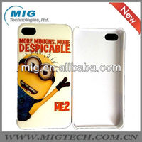 Despicable me cute Minions PC case for iphone 4, phone cover