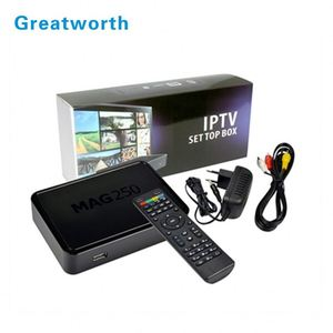 2017 mag 254 iptv box wifi New Mag 256 Multimedia Player Internet Tv Box mag250 Iptv Set Top Usb Hdtv Mag254