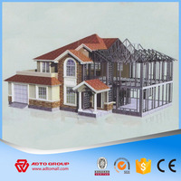 ADTO Group High Rise Steel Structure Support Multi-story Truss Beams Space Building Construction with Drawing Wholesale