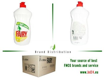 Fairy Lemon 500ml dishwashing liquid