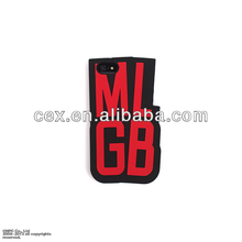 High Quality 3D Letter MLGB Silicone Back Case Protector For Apple iPhone 5 5s