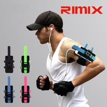 Hot sale Rimix Reflective Jogging/Running Wrist Armband for Samsung/Iphone