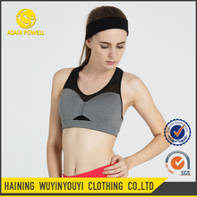 Fitness Wholesale Spandex Specialized Sexy Backless Bra