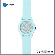 fashion silicone jelly candy wrist watches japan movt gift promotion watch