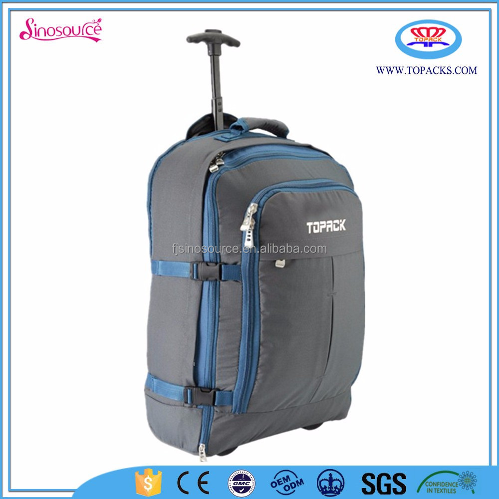 double hike backpack with trolley rucksack for backpack