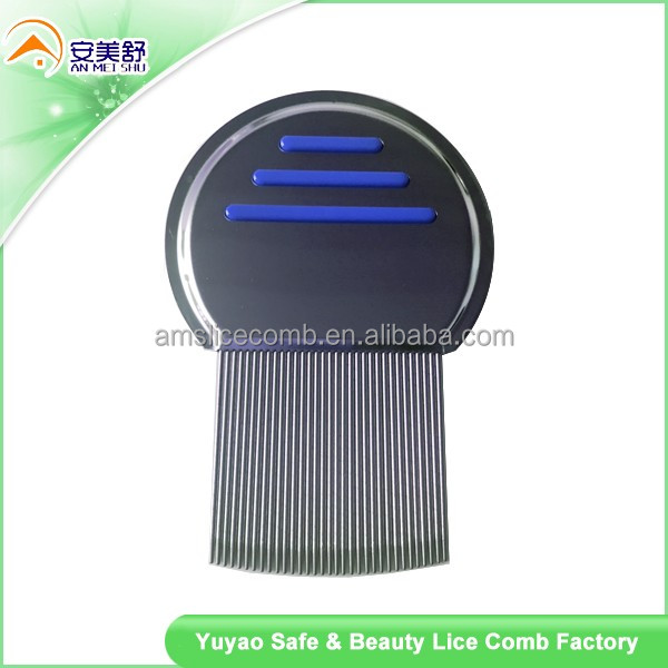 Head Lice Comb Safe Premium Quality Removal of Lice Eggs Nits. Best Results for Head Louse Treatment
