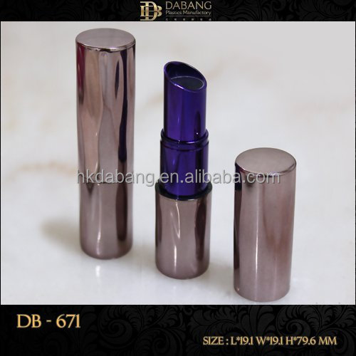 Customized PLASTIC lipstick tube empty packaging container - DB-671