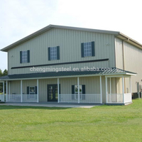Professional and Practical custom-made light steel construction office building