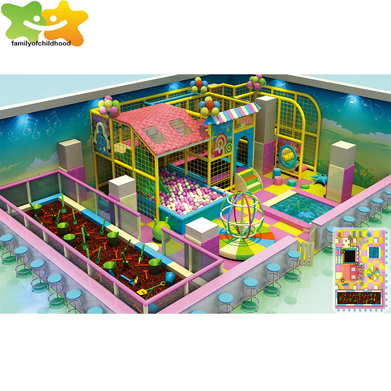 indoor toy playground equipment kids soft indoor play centre for sale