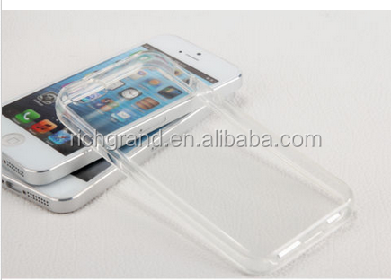 ultra Thin Slim Crystal Clear Soft TPU Case Cover for iphone4/5s/6