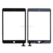 Low price china mobile for ipad mini 2 touch screen+home button+tape+IC