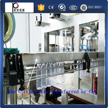 (Have video)automatic small scale bottle rotary type mineral pure water bottle filling machine washing filling capping line