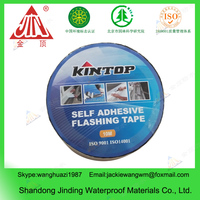1.5mm aluminium foil self adhesive bitumen strip