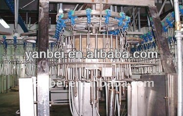 Chicken slaughtering line overhead conveyor for meat processing equipment