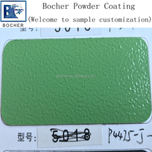 green powder coating wrinkle rough surface of thermosetting powder coating paint